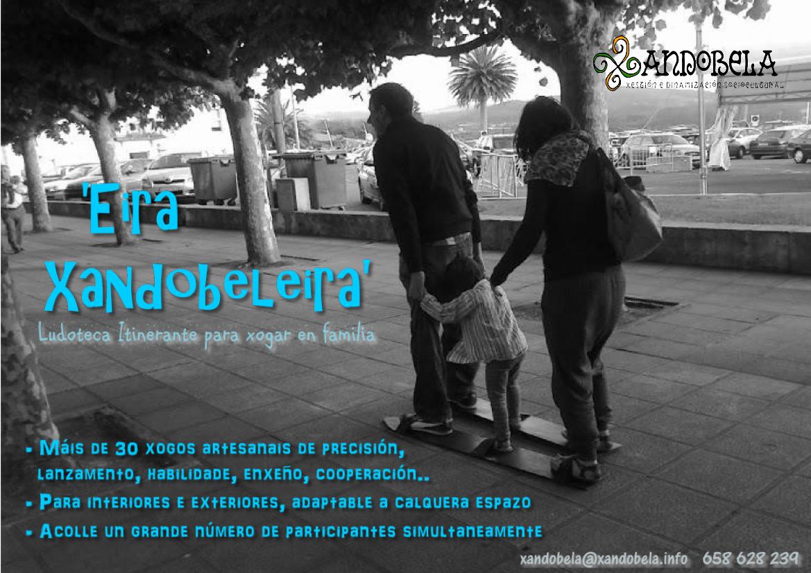 """""""Eira Xandobeleira"""" Ludoteca Itinerante para xogar en familia"""
